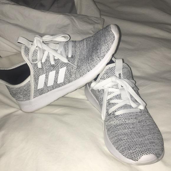 adidas Shoes - White   black speckled Adidas shoe e40718354